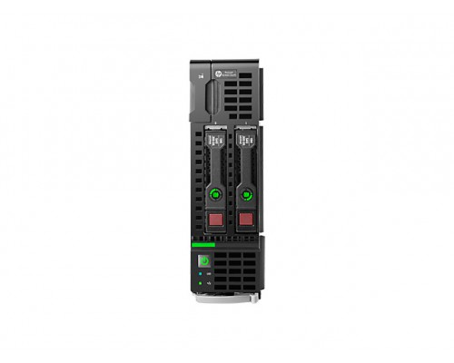 Блейд-сервер HP ProLiant BL460c Gen8 666163-B21