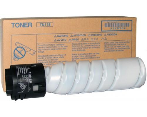 Тонер Konica Minolta Toner Cartridge TN-118 (black), 2шт x 12000 стр.A3VW050