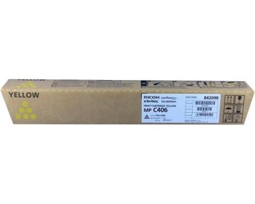 Тонер-картридж Ricoh Print Cartridge MP C406 (yellow), 6000 стр.842098