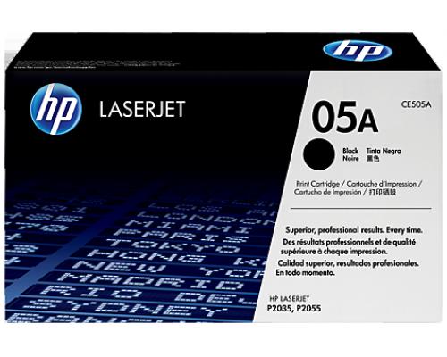Оригинальный картридж лазерный HP 05A (CE505A)