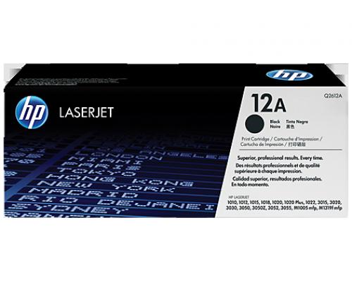 Оригинальный картридж лазерный HP 12A (Q2612A)
