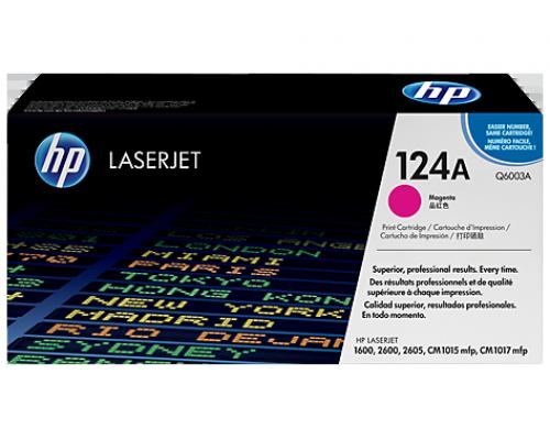 Лазерный картридж HP 124A (Q6003A)