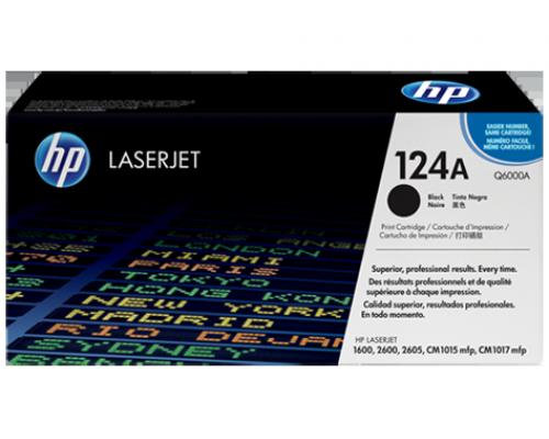 Лазерный картридж HP 124A Q6000A