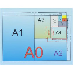 Стандартные размеры бумаги для печати