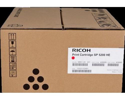 Принт-картридж Ricoh 406685, SP 5200HE для принтера Aficio SP 5xx0