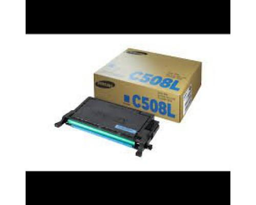 Картридж Samsung CLT-C508L/SEE для принтера Samsung CLP-620/670/CLX-6220/6250